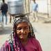Woman With Water Jug on Head, Uttar Pradesh India