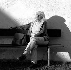 Mono (Mattia Camellini) Tags: id11 ilfordfp4 120rollfilm analog pellicola biancoenero blackandwithe portrait woman zeissikonerconaii novonar45110 vintagecamera mattiacamellini foldingcamera canoscan9000fmarkii