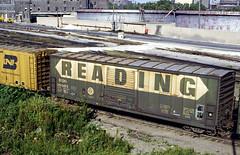 Reading 18465 (Chuck Zeiler) Tags: rdg reading 18465 railroad boxcar freight car box chicago train chuckzeiler chz