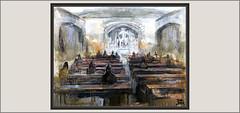 MISA-SEU-MANRESA-PINTURA-ART-ARTE-CRIPTA-HISTORIA-LITURGIA-LLOCS-INTERIOR-BASILICA-MISES-COMUNIÓ-ACTIVITATS-PINTURES-ARTISTA-PINTOR-ERNEST DESCALS (Ernest Descals) Tags: misa seu manresa basilica art arte artwork mises misas liturgia actividades religiosas mistica magia escenica llocs altar lugares misticos liturgicos religious magic magicos comunion devotos asistentes asistir feligreses historia historicos piezas historicas catedral interior interiores espacio intimidad solidaridad crypt criptes criptas pintura pinturas pintures coleccion pintar pintando quadres cuadros cuadro collection laseudemanresa catalunya catalonia cataluña col·lecció pintor plastica plasticos pintores pintors paint pictures painters painter paintings painting ernestdescals recogimiento emocion fe