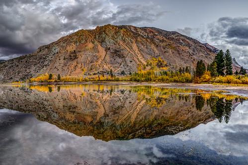 Fall Pond Reflection