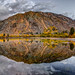 Fall Pond Reflection