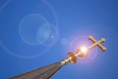 Grateful (vegeta25) Tags: sky ég kék sárga csillogó hit vallás katolikus