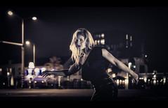 Film Noir XXV (Passie13(Ines van Megen-Thijssen)) Tags: kiki filmnoir mood night nightscape woman portrait portret canon sigma35mmart weert netherlands inesvanmegen inesvanmegenthijssen