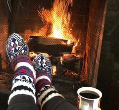 "Cozy way to enjoy a cold day (peggyhr) Tags: peggyhr fireplace flames sparks cozy socks coffee autumn iphone bluebirdestates alberta canada ""the galaxy"" gallery uniquity the galaxy stars alittlebitofsoaplevrl1 galaxylevel2 galaxyhof"