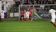 Lewes 3 Worthing 4 03 10 2018-112.jpg (jamesboyes) Tags: lewes worthing sussex football soccer fussball calcio voetbal amateur bostik isthmian goal score celebrate tackle pitch canon 70d dslr