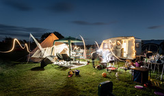 Messy Camping (Rob Pitt) Tags: rhoscolyn holy island north wales a7rii long exposure anglesey grass camping bell tent canon 1740 f4 l