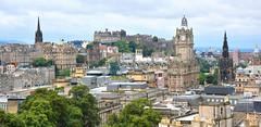 The City of Edinburgh (M McBey) Tags: skyline edinburgh scotland historic buildings castle cityscape tower