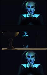 ~ ♥ The Nun ♥ ~ 17 (~ ღ Åɱṗḣɪṭṙịṭě's Ḅḷöġ ღ ) Tags: secondlife portrait sl photography creepy haunted church nun valak halloween dark pray ghost art saltpepper