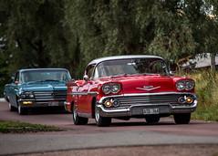 Chevrolet Belair 1958 (Myggan68) Tags: bilar rättvik car classiccar classiccarweek2018 ontheroadswithmyggan sweden