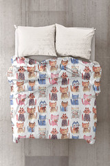Aristo cats by mimipinto @spoonflower (MimiPintoArt) Tags: fabrics nursery decor baby blankets swaddle cloth burp duvet quilts gender neutral wallpapers gift wrapping paper diy craft wall decals art cats pets animals cute