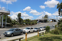 Carindale Shopping Centre from the road (philip.mallis) Tags: autopia brisbane road carindaleshoppingcentre carindale