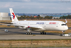 F-WZFO Airbus A350 China Eastern (@Eurospot) Tags: fwzfo airbus a350 a350900 lfbo toulouse blagnac b304n chinaeastern