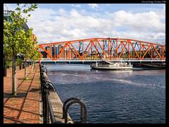 Detroit  Bridge #2 (jason_hindle) Tags: manchester unitedkingdom greatermanchester ipadair2 salford salforddocks autumn lightroomcc olympus1240f28 detroitbridge huronbasin eriebasin snapseed olympusomdem5 salfordquays