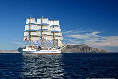 DSC_7385 (yuhansson) Tags: фрегат херсонес море чёрное парусник крым паруса парус корабли корабль путешествие путешествия югансон юрий boat sea sky water vessel ship sailing новыйсвет судак