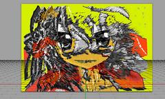Drawing a Portrait (Jocarlo) Tags: retratos retrato creative creativa creativeartphotography portrait portraits art adilmehmood arttate ella flickrclickx flickraward flickrstruereflection1 flickrphotowalk flickr fotografía fotografias fotos genius gente gentes jocarlo melilla rostros rostro soulocreativity1 woman women