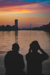 Joy Factory (DOKTOR WAUMIAU) Tags: 50mm d7200 ishootraw nikon abendrot autumn berlin dawn herbst lightroom sigma silhouettes sunset treptow treptower