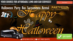 Halloween Party Bus Sacramento Rental (partybussacramentorental) Tags: halloween party bus sacramento rental