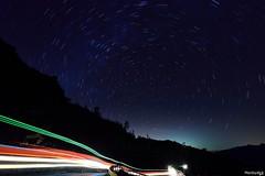 畫圈圈 @合歡山 (monbydick) Tags: 合歡山 星軌 monbydick nikond600 tamron1530mmf28 startrail starrynight