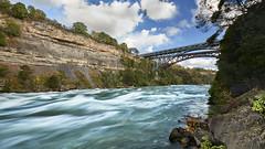 Niagara Rapids (Rich Parkinson) Tags: nikon nikond850 d850 river sky bridge niagara niagarariver niagararapids rapids water