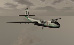 """DHC 4 in Air Atalantique (Jenny """"Oxymoron"""" D) Tags: dhc 4 slaviation aircraft air atlantique"""
