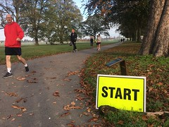 (the_amanda) Tags: gunnersbury parkrun 357 start park london ealing runner footpath