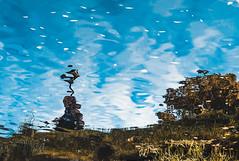 Grand (Павел Умовский/Pavel Umovsky) Tags: mirror grandmather blue canon water river
