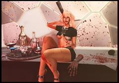 Happy Anniversary (ZexyQueen) Tags: secondlife sl slfashion slstyle slphotography slblog slblogger cranked ultra ultraevent versov arcade etnia chicchica tiller theepiphany gacha doe doehair zombiesuicide zs chain sysca empire