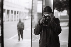 Self Portrait, Cape Town, South Africa (Semjaja) Tags: blackandwhite blackandwhitefilm selfportrait film filmlives filmsnotdead filmphotography filmcamera ishootfilm shootfilm shotonfilm onfilm monochrome classiccamera analogue analoguecamera voigtlander voigtlanderprominent nokton nokton1550mm nokton50mm kentmere kentmere100 capetown southafrica