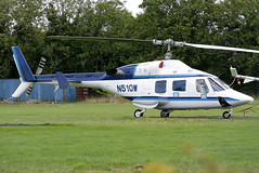 N510W (GH@BHD) Tags: n510w bell bell222 westonairport weston helicopter chopper rotor aircraft aviation