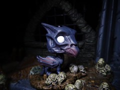Baby Thestral (ridureyu1) Tags: thestral harrypotter crimesofgrindelwald fantasticbeasts funko pop funkopop bobblehead mysterymini toy toys actionfigure toyphotography sonycybershotsonycybershotdscw690