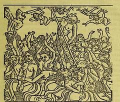 This image is taken from Page 63 of La grande danse macabre des hommes et des femmes : précédée du dict des trois mors et dfs [!] trois vifz, du Débat du corps et de l'ame, et de La complaincte de l'ame damp (Medical Heritage Library, Inc.) Tags: dance death wellcomelibrary ukmhl medicalheritagelibrary europeanlibraries date1862 idb24877402