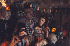 (mimiau_m) Tags: bjd asian doll halloween dollroom party supia rosy recast