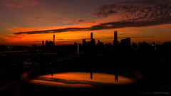 Halloween sunset 萬聖節日落 (kevinho86) Tags: 169 ef1635f4lusm wideangle reflection canon canton city cityscapes colour eos6d skyline 空 cloudy sky sunset urban 雲 magichour ontheroof 城市 珠江新城 pearlrivernewtown 天空 guangzhou landscape scenery scape downtown 建築 twilight 天際線 art 都會 24mm highview