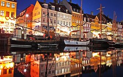 The old boats at Nyhavn harbour (MRCPH) Tags: alpha a6000 architecture beauty beautiful colors colours copenhagen color composition colour city denmark europe exposure europa flickr boats boat harbour holiday holidays image images iconic københavn light landscape landscapes lights mirrorless mirror ngc nightscape night long outside outdoors ocean photos photo picture pictures photography quay reflection reflections river sony serene sample seascape scenic sea scandinavia seashore serenity travel uwa view vacations nyhavn houses buildings yellow blue ships ship evening autumn november lonely planet samyang 12mm
