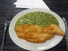 Fish supper! (70023venus2009) Tags: yorkshirefisheries blackpool yorkshirefisheriesblackpool food fish lancashire