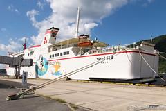 Ferry Shirashima (takashi_matsumura) Tags: ferry shirashima sakaiminato oki tottori japan nikon d5300 ngc vessel sigma 1750mm f28 ex dc os hsm ship フェリー しらしま 境港 鳥取 隠岐