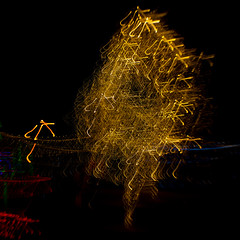 326/365@50 (Ruff Edge Design) Tags: christmas lights tree gold icm intentionalcameramovement multipleexposure incamera abstract lensbaby sweet35 square