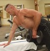 back rows (ddman_70) Tags: shirtless pecs muscle gym workout