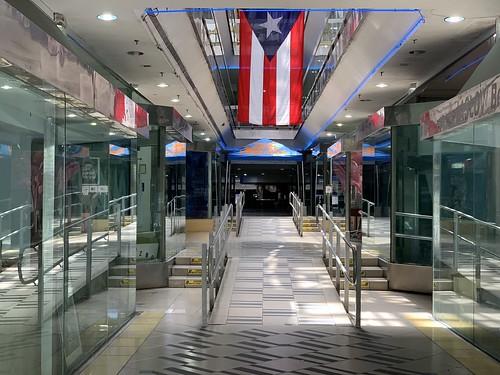 Empty Mall Downtown Miami