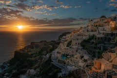 Sunset over Oia, Santorini (Alona Azaria) Tags: greece cyclades kyklades santorini oia sunset nikon nikkor d800 240700mmf28 caldera