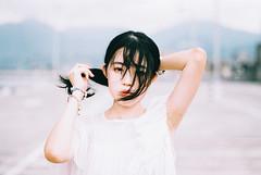 https://www.instagram.com/bryant9662002/ (カク チエンホン) Tags: contax girl g2 g90 portrait film fuji