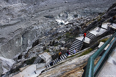 Stairway to the Glacier (isaac.borrego) Tags: france chamonix alps frenchalps europe