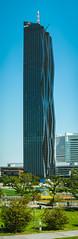 DC Tower I (José L.Gutiérrez) Tags: nikon d7100 reflex mirror 200mm panorama people bike dc tower i dctower1 skycraper viena austria building