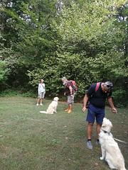 Ettore e Scarlet partecipanti passeggiata del 23/09/2018