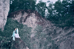 Huan Hsi Sha (bdrc) Tags: fullframe malaysia alorsetar kedah travel chinese hanfu 汉服 traditional culture costume apparel attire bluelagoon lake lime stone quarry outdoor flash strobe godox ad600 natsuki coser model people girl portrait sel85f18 85mm f18 prime sony sonyalpha sonyimages sonyuniverse asdgraphy malaysiaphotographer mirrorless