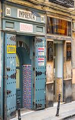 Imprenta (vcastelo) Tags: antigua imprenta barrio lavapies madrid españa spain