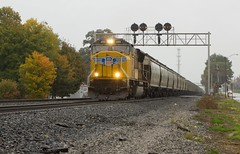 One Unit Wonder (Eric_Freas) Tags: norfolk southern ns fort wayne line canton ohio union pacific up 4881 position lights