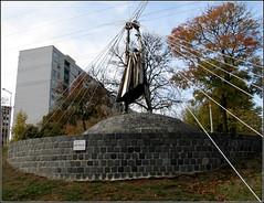 Munkás -  Varga Imre 1977-ben készült szobra (csiszerd_50) Tags: