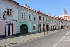 Bistrita (ec1jack) Tags: ec1jack kierankelly september 2018 summer holiday europe eastern transylvania romania canoneos600d bistrita painted houses